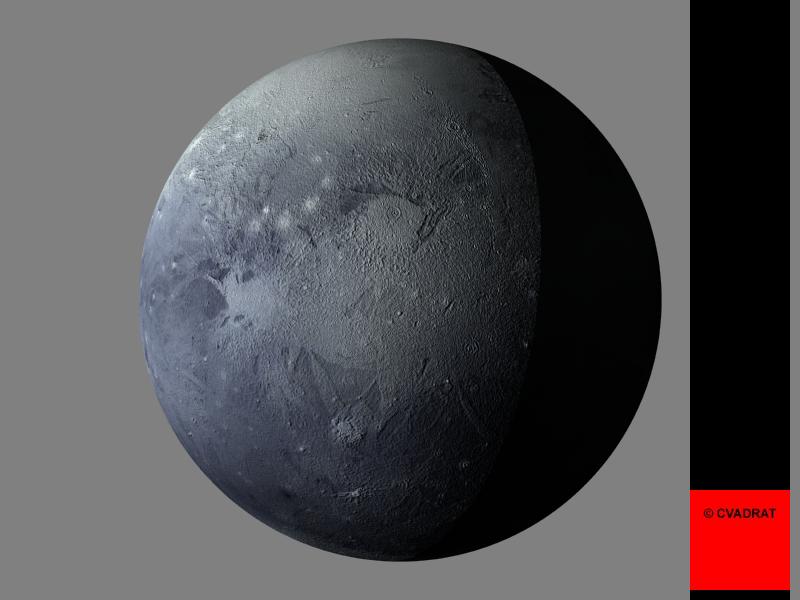 Dwarf planet Pluto Desktop Wallpaper Eris.
