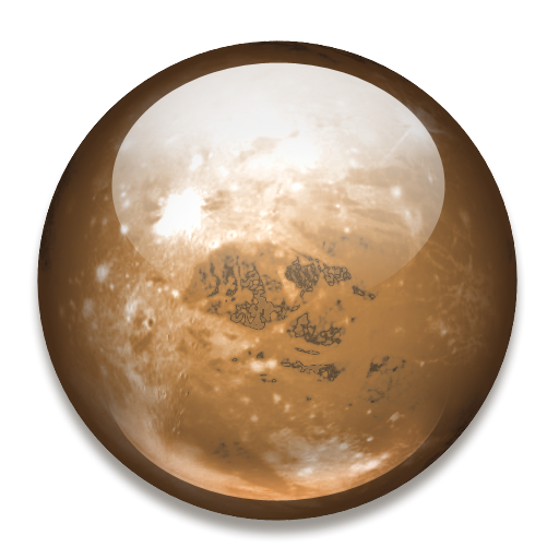 Planet Pluto Icon, PNG ClipArt Image.