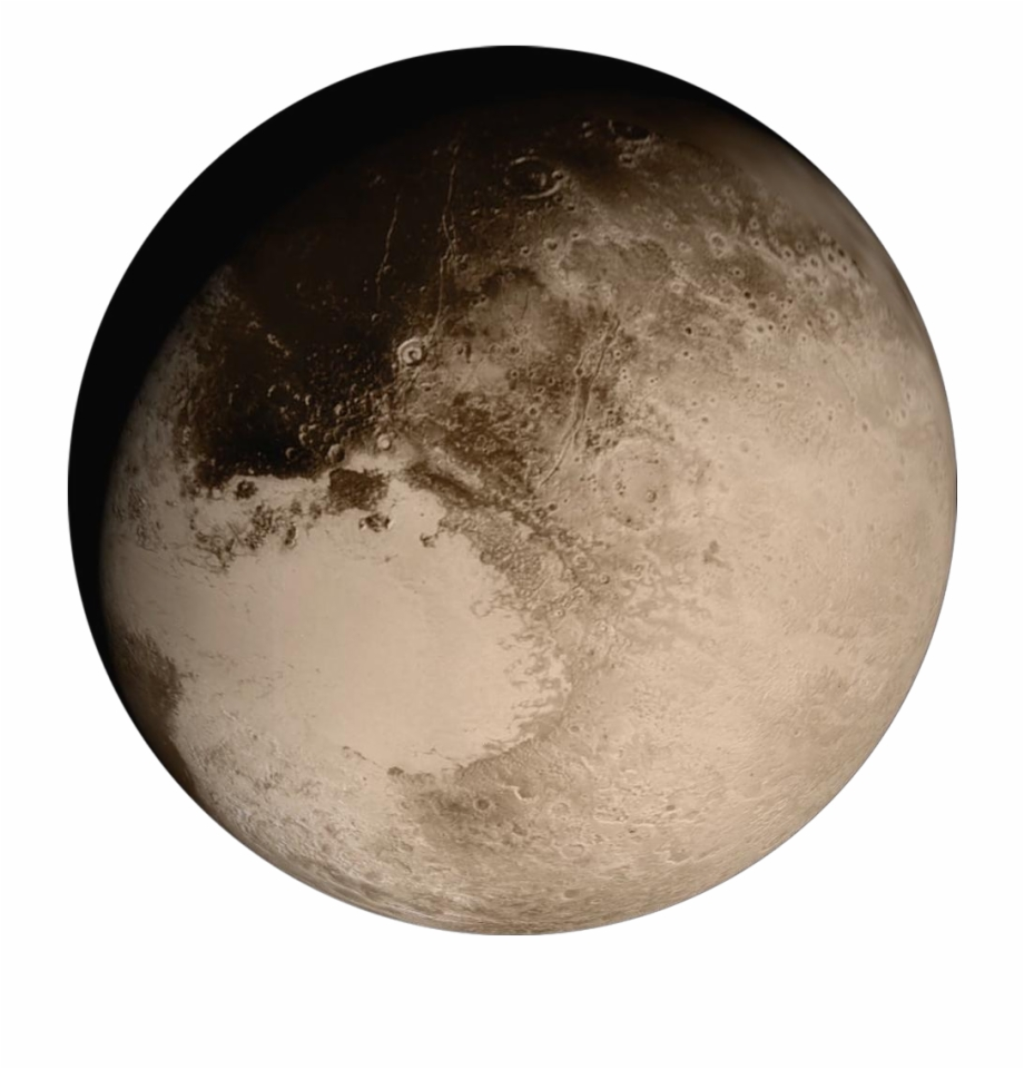 Pluto Planet Png.