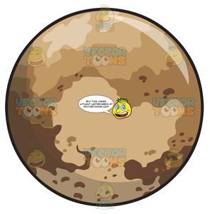 The Dwarf Planet Pluto.