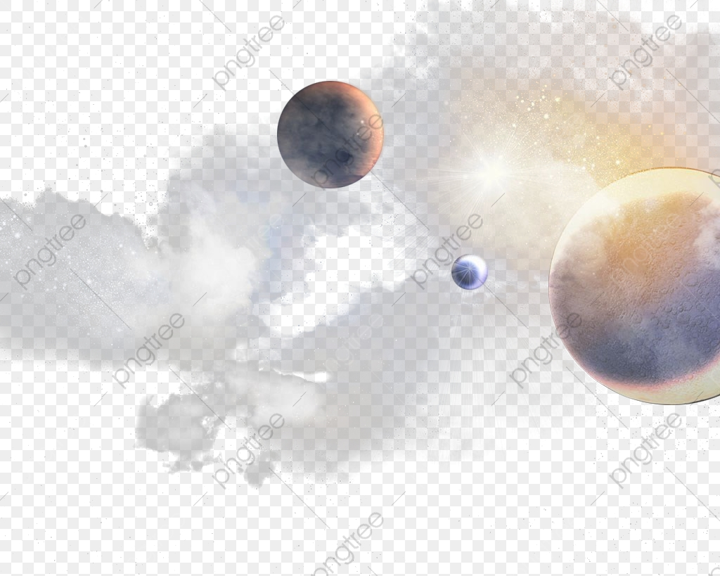 Galaxy Planets, Galaxy Clipart, Milky Way, Planet PNG.