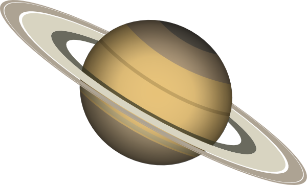 Saturn Planet Clipart.
