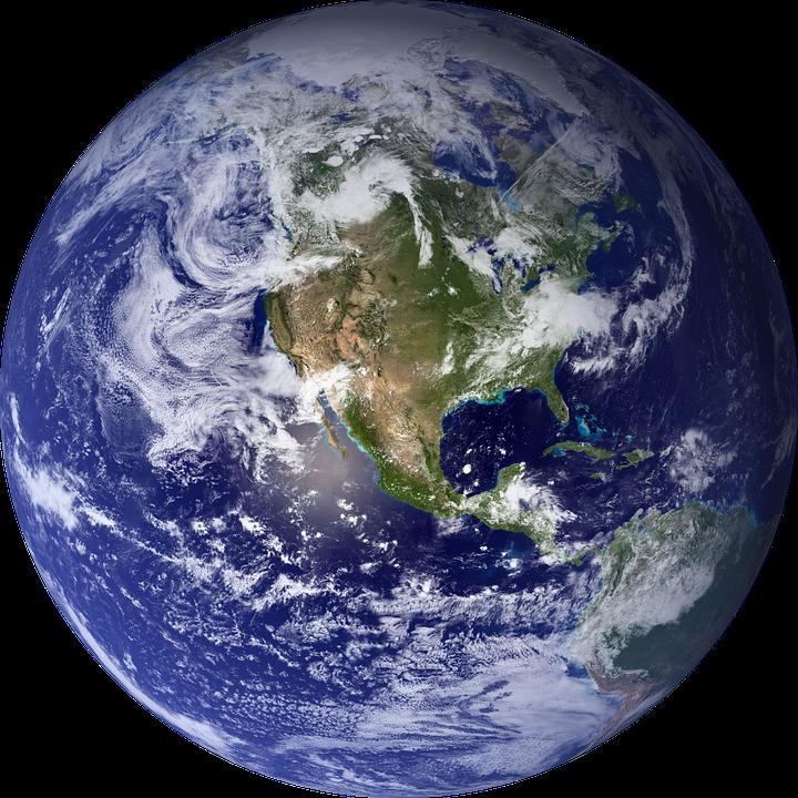 Planeta terra png 2 » PNG Image.