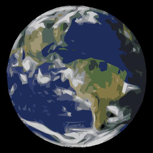 Ícone do planeta Terra.