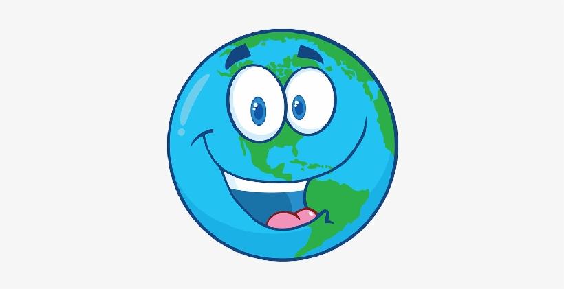 Planeta Tierra Dibujo Animado.