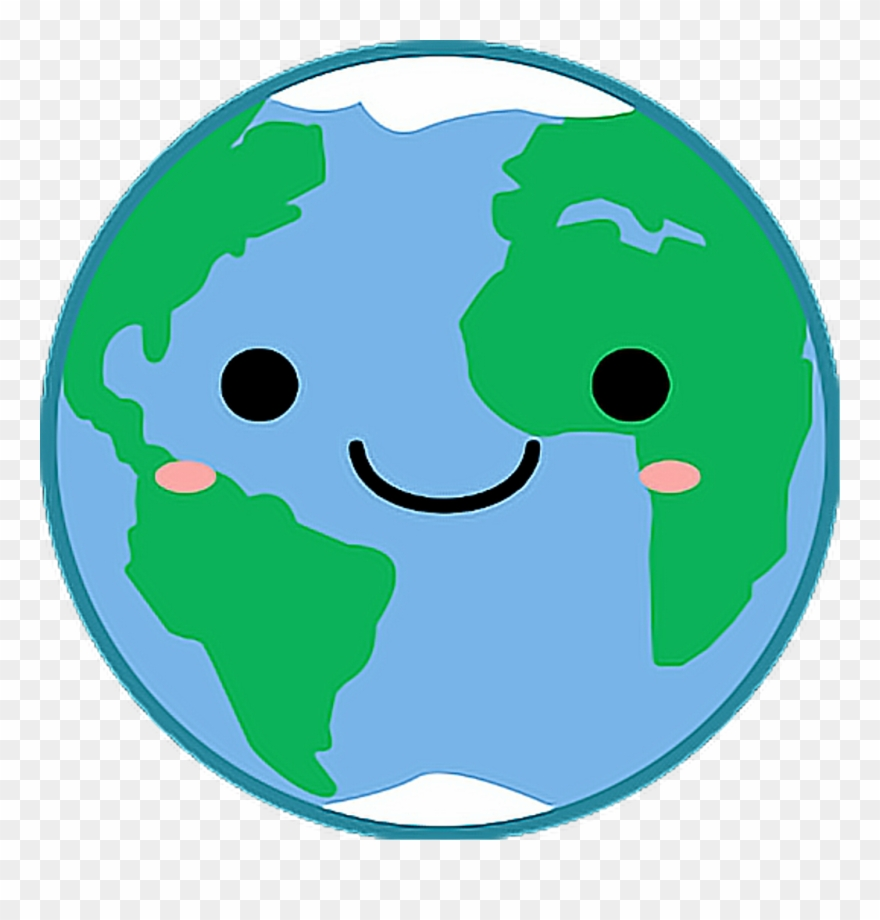World Planet Planets Kawaii Planeta Planetas Tierra Clipart.