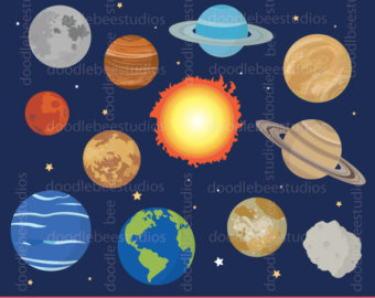 Solar system party.