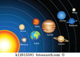 Solar system Clipart and Illustration. 8,188 solar system clip art.