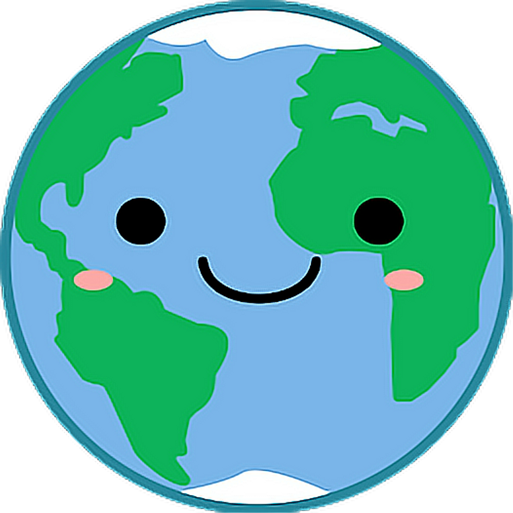 World Planet Planets Kawaii Planeta Planetas Tierra Clipart.