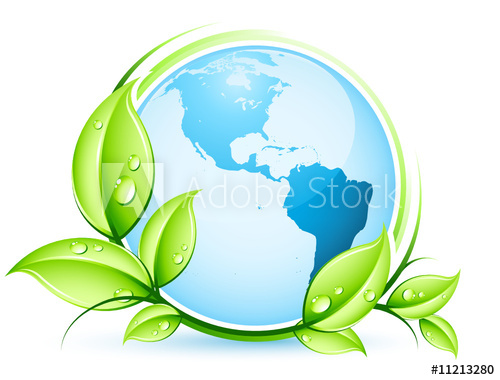 Planète terre végétale.