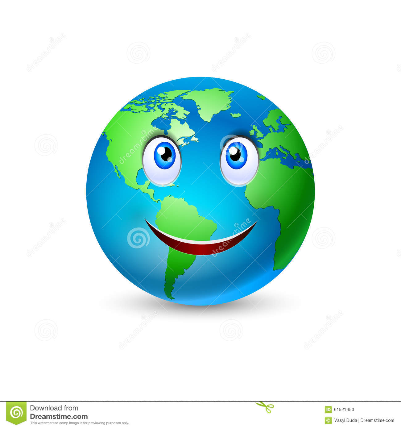 961 Planet Earth free clipart.