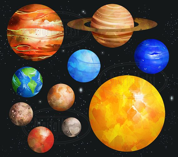 Planeten clipart space thing, Planeten space thing.