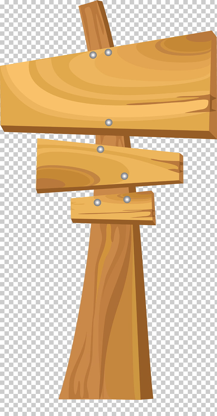 Wood Plank Advertising, hanging demo board PNG clipart.