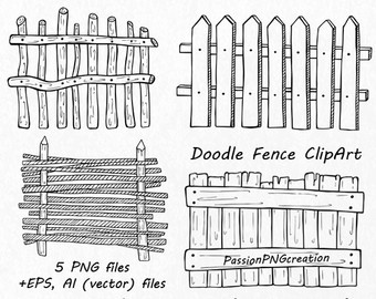 Fence clip art.