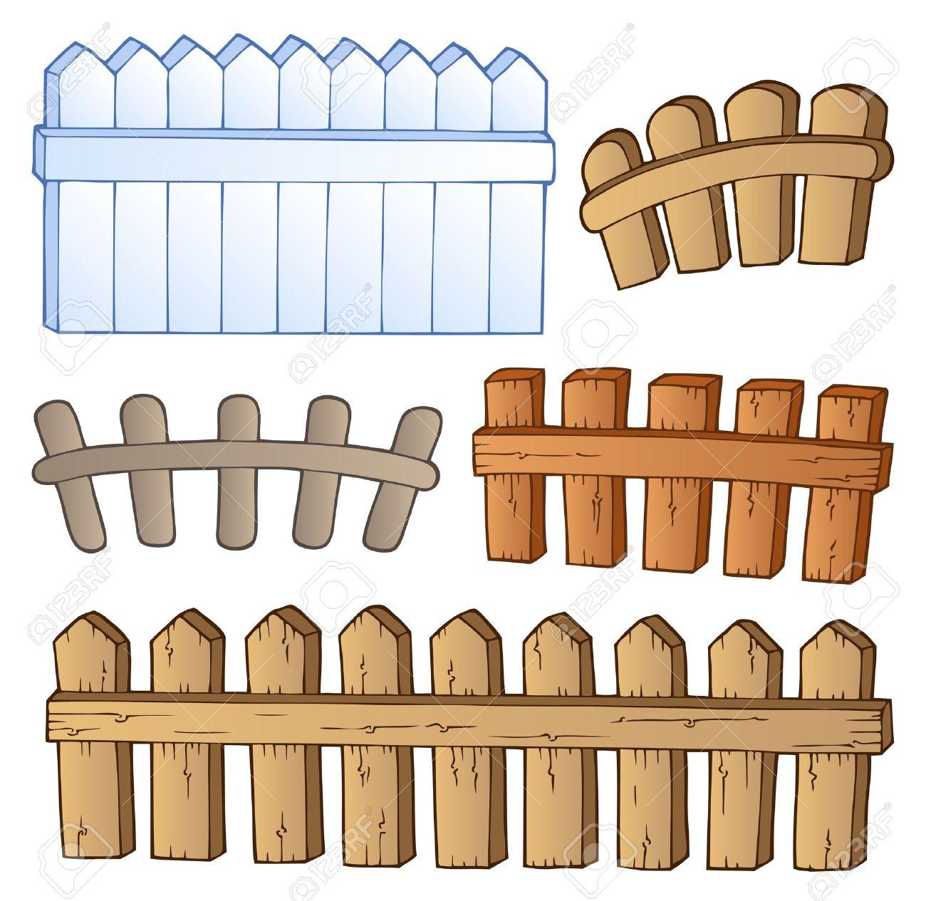 Cartoon Fences Collection.