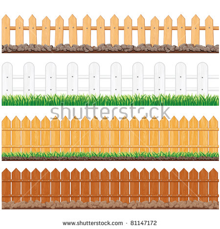 Wooden fence design free vector download (838 Free vector) for.