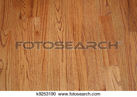 Stock Photography of Wood Plank Floor k9253190.