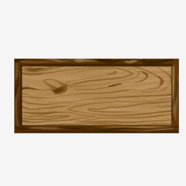 Solid Wood Plank Wood Illustration, Wooden Board, Wood.