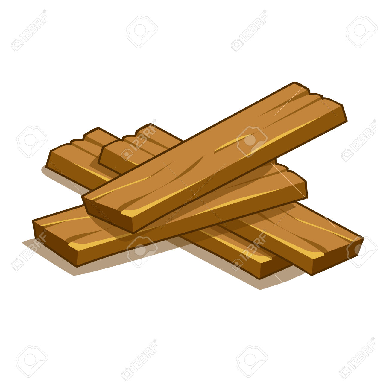 Wooden Plank Cartoon ~ Wooden planks clipart clipground