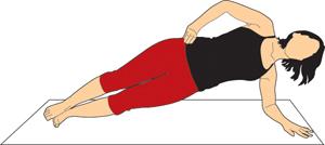 Plank Workout Clip Art.