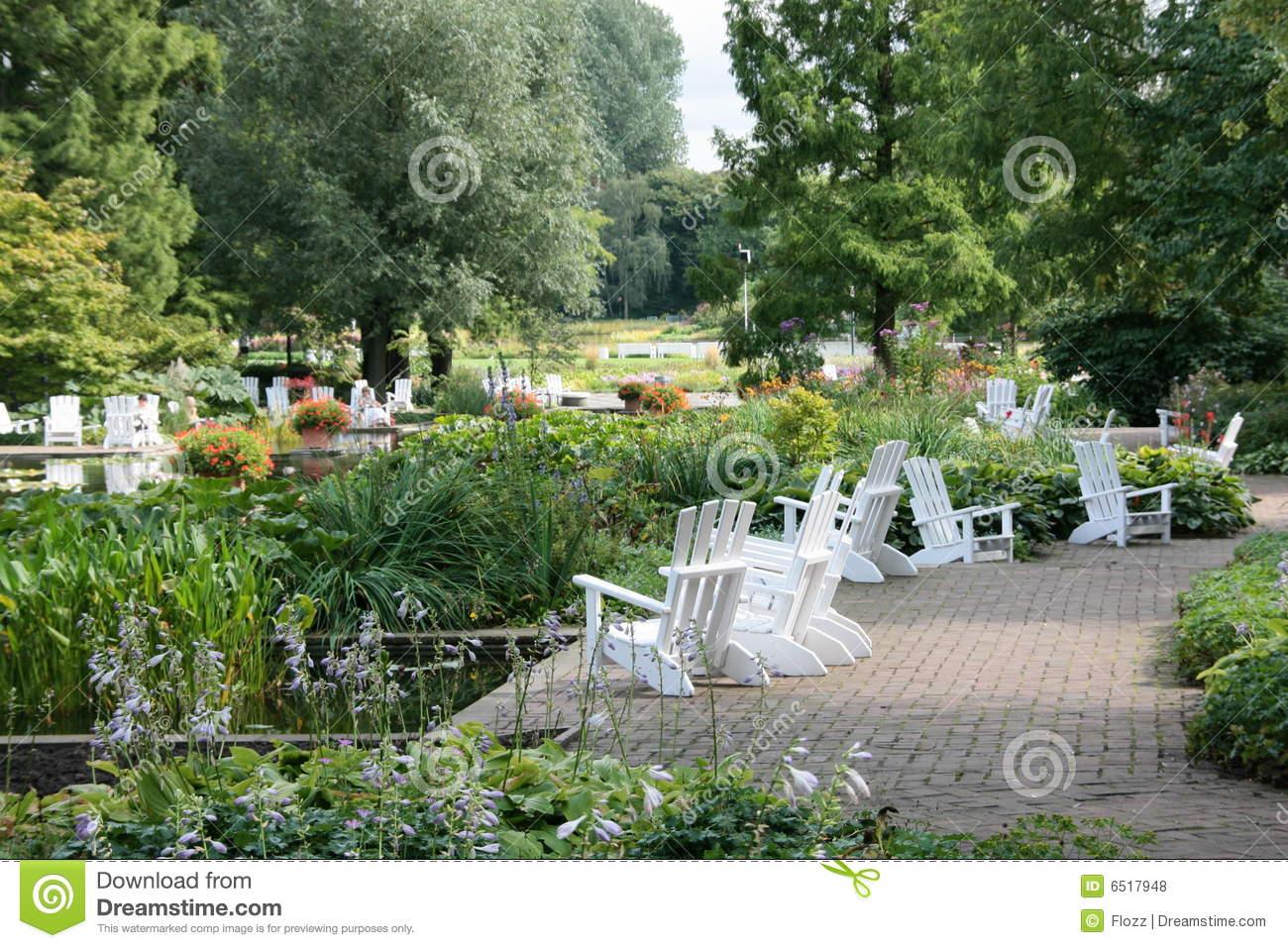 Park Planten Un Blomen Royalty Free Stock Photos.