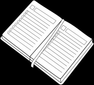 Planner Clip Art at Clker.com.