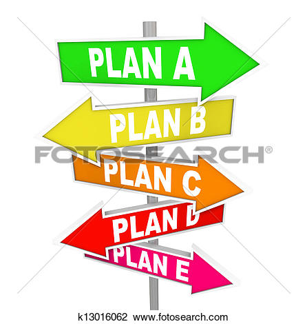 Clipart of Person walk follow path plan point A to B k4995162.