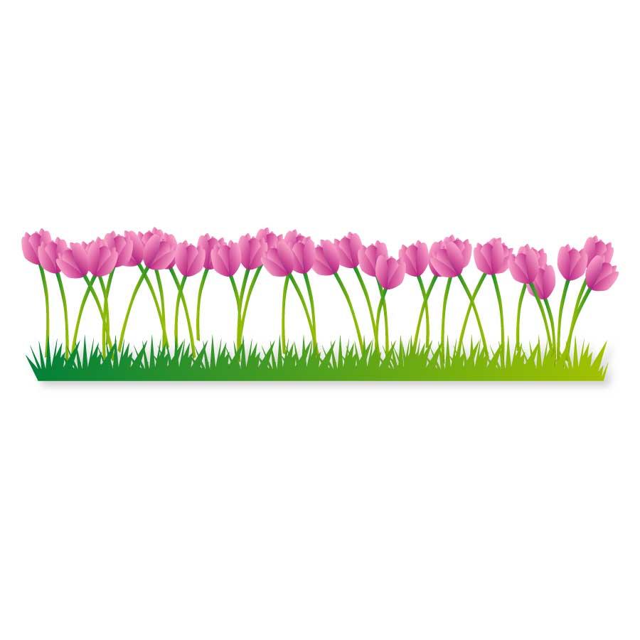 Flower Clipart Vector Art.