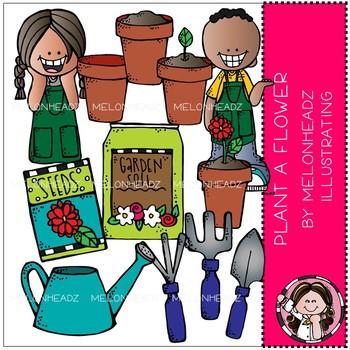 Plant A Flower clip art.