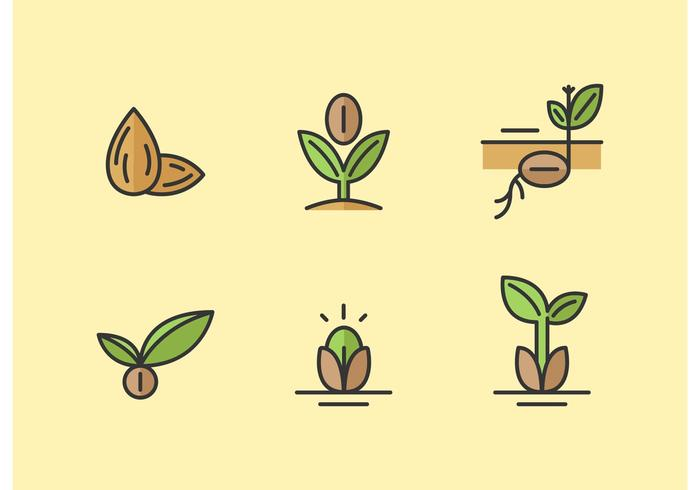 Seed Vector Icon Pack.