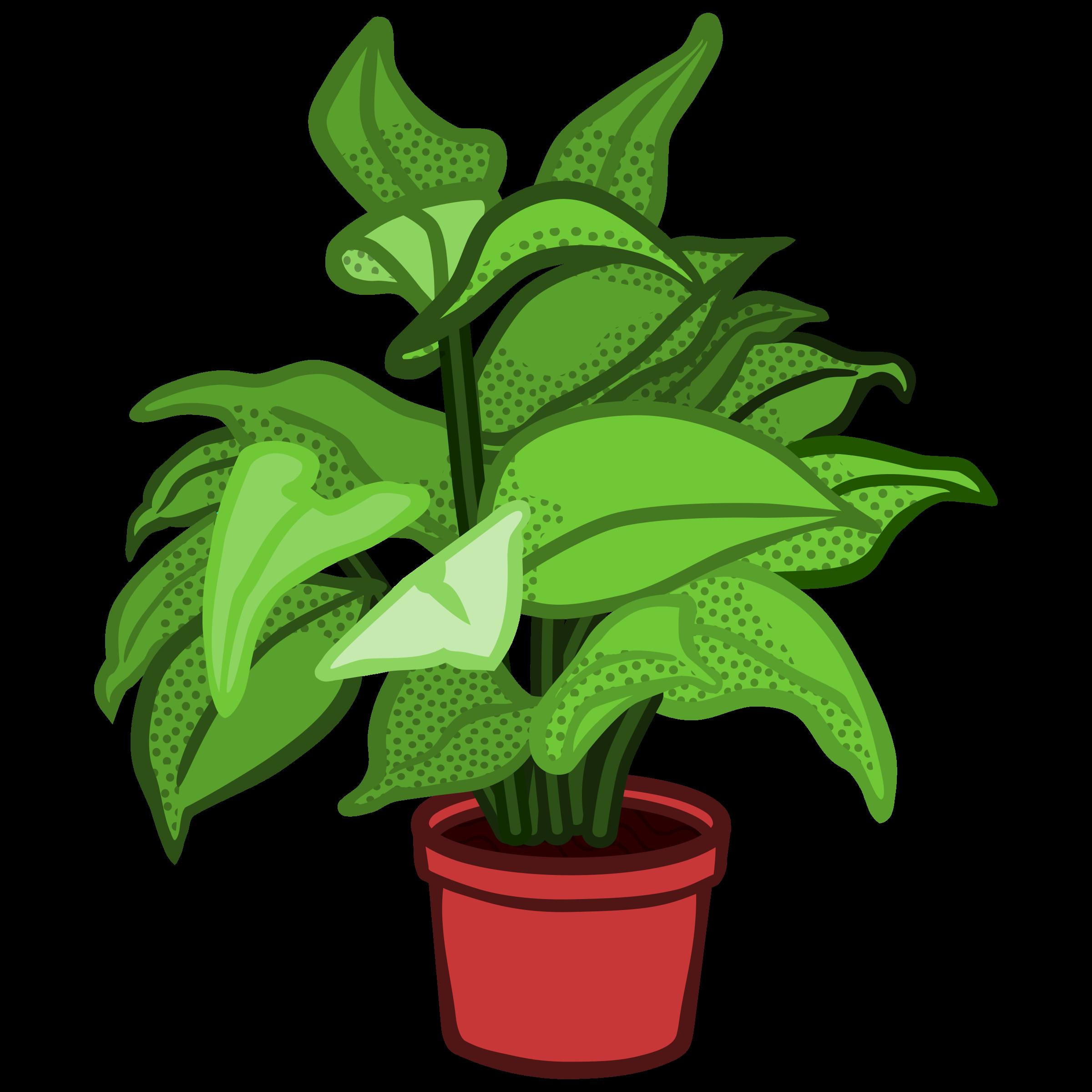 Pot plant clipart 2 » Clipart Station.