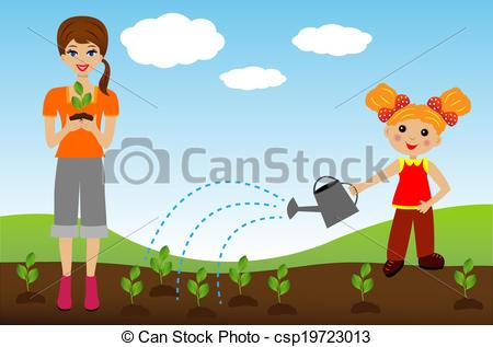 Plant nursery clipart #15