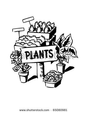 Plant Nursery Sign Stock Images, Royalty.
