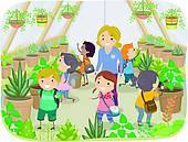 Plant Nursery Clip Art.