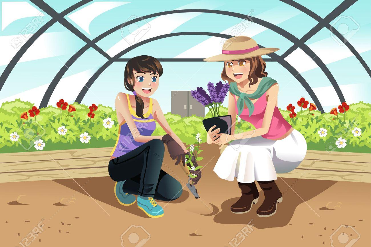 Showing post & media for Plant nursery cartoon.