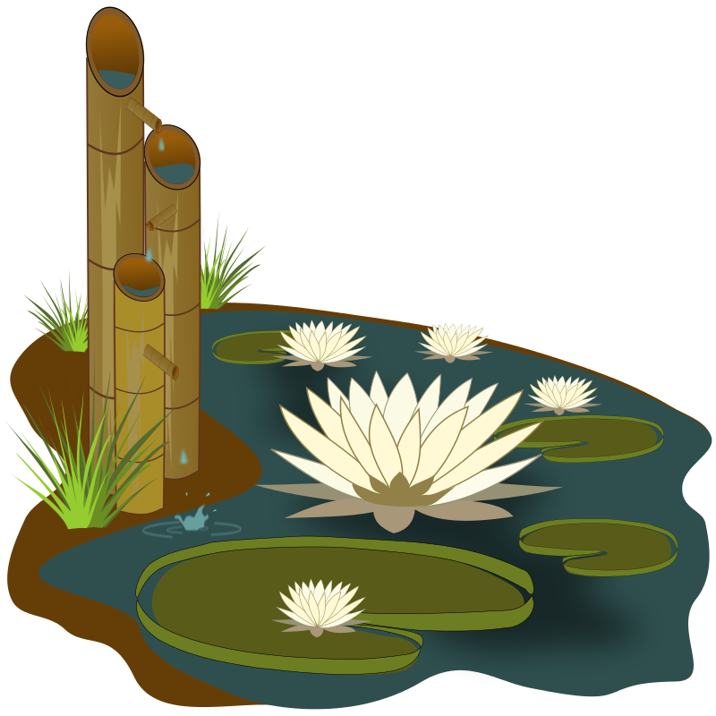 Pond Clipart.