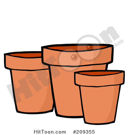 Plant Pot Clipart #1.