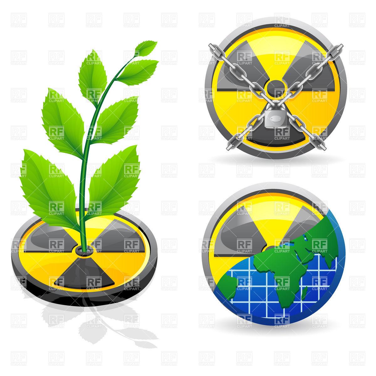 Environmental protection symbols.