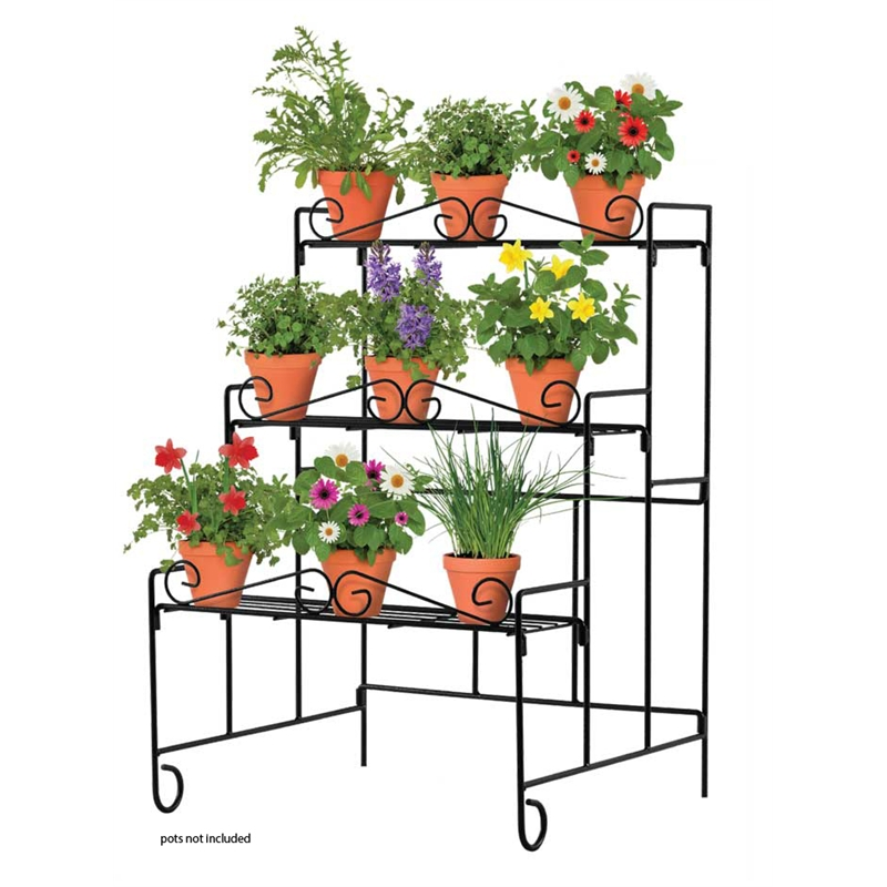 Whites Outdoor Wall Heavy Duty Plant Stand.