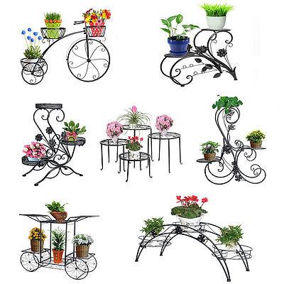 Plant Stand Bench Display Favorite Pot Garden Yard Fir Wood Decor.