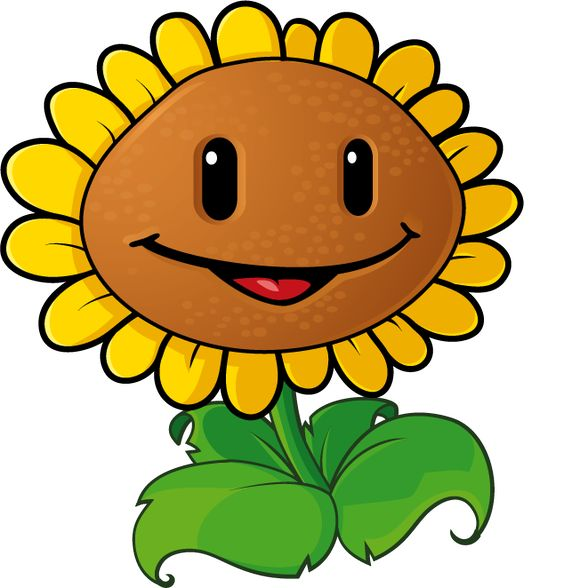 This is best Sunflower Clipart #4018 Printable Plant Cell.