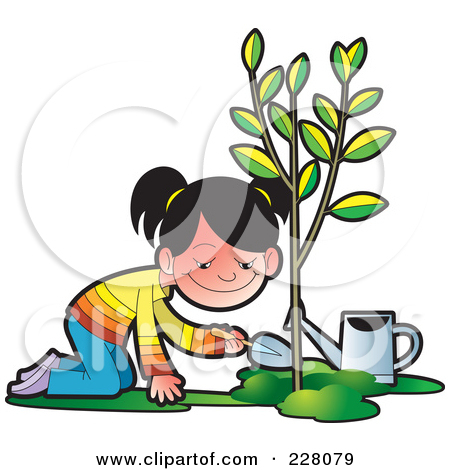 Plant tree clipart #16