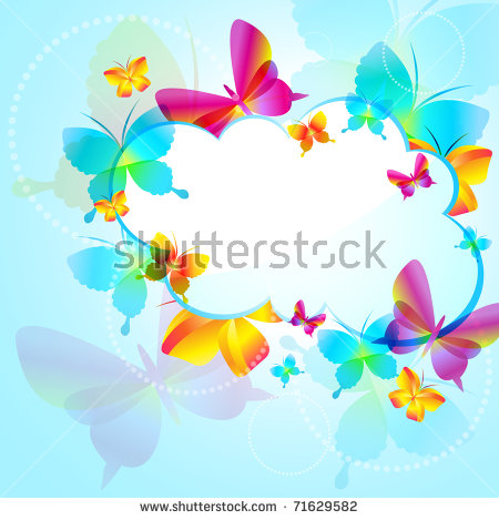 Blue Butterfly Clipart Stock Photos, Royalty.