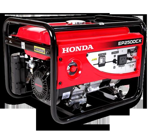 Guatemala: PROYEQ: Generadores de Energía: Honda EP2500CX.