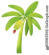 Banana Tree Clip Art.