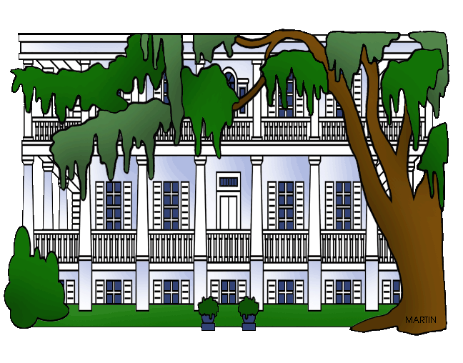 Free United States Clip Art by Phillip Martin, Plantation.