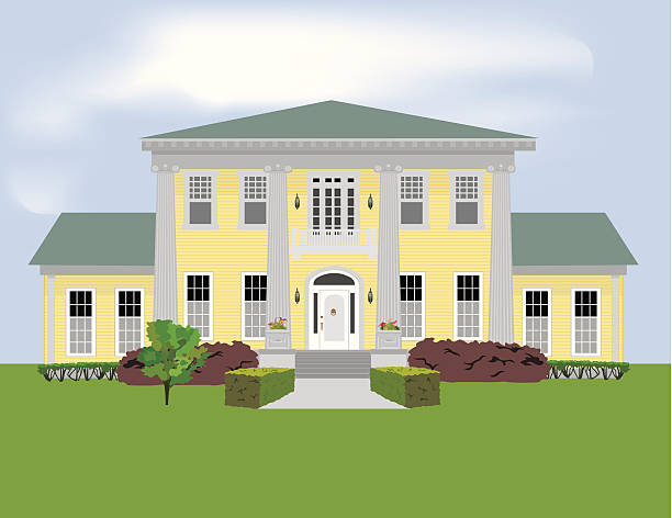 Plantation House Clip Art, Vector Images & Illustrations.