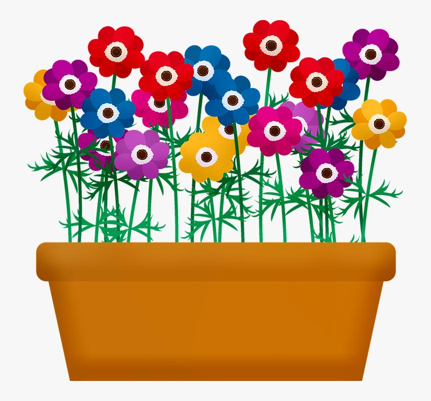 Transparent Flower Box Png.