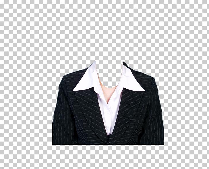 Traje ropa de plantilla formal, hombre de negocios, raya.