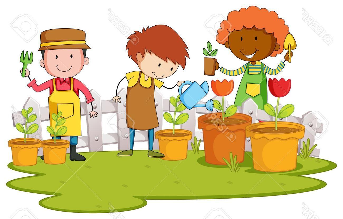Best Free Garden Plant Clipart Image.